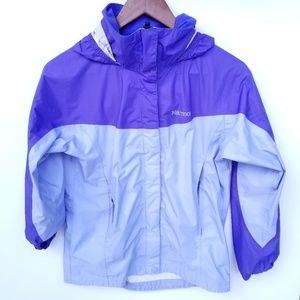 Marmot Girls Purple Rain Jacket Large